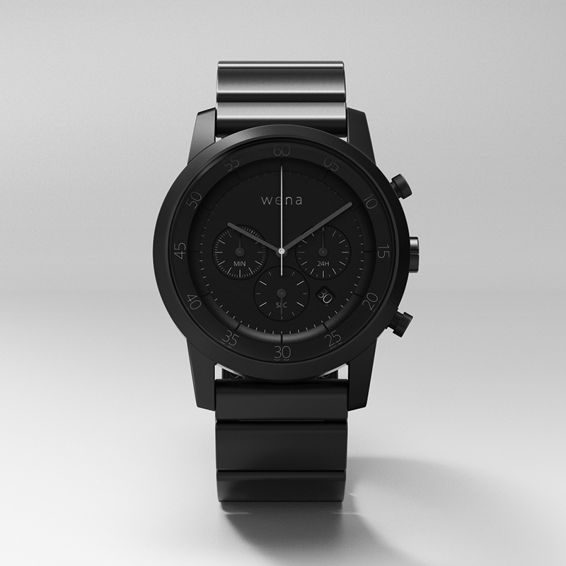Chronograph Premium Black